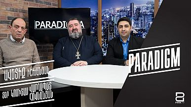 Avetik Ishkhanyan and Komitas Hovnanyan's heated debate over relations between Armenian Apostolic Church and the state